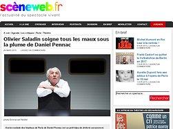 Olivier Saladin soigne tous les maux sous la plume de Daniel Pennac