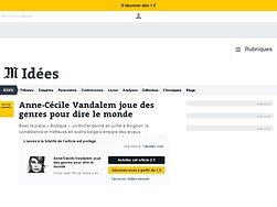 Anne-Cécile Vandalem joue des genres pour dire le monde