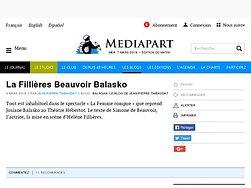La Fillières Beauvoir Balasko