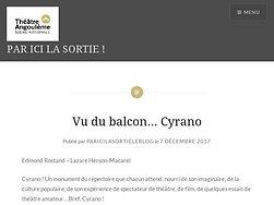 Vu du balcon… Cyrano