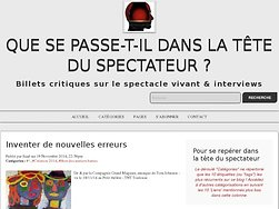 L'anti-spectacle s'attire l'antipathie