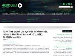 Turn The Light On #76 Des territoires.