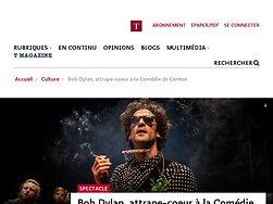 Bob Dylan, attrape-coeur àla Comédie de Genève
