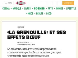 «La Grenouille» etses effets bœufs