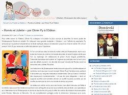 """""""Roméo et Juliette"""" par Olivier Py à l'Odéon"""