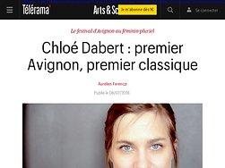 Chloé Dabert : premier Avignon, premier classique