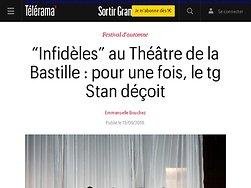 """""""Infidèles"""" : pour une fois, le tg Stan déçoit"""