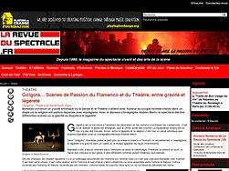 Scènes de Passion du Flamenco et du Théâtre