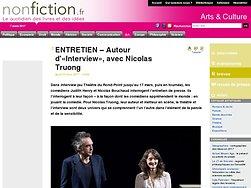 Entretien : Autour d'«Interview», avec Nicolas Truong