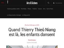 Quand Thierry Thieû Niang est là, les enfants dansent