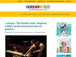 The Scarlet Letter, Angélica Liddell, artiste amoureuse avec un grand A