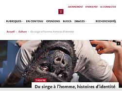 Du singe à l'€™homme, histoires d'€™identités