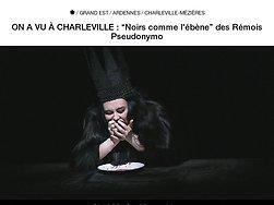 """Noirs comme l'ébène"""" des Rémois Pseudonymo"""