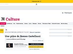 Une pièce de Romeo Castellucci censurée auMans