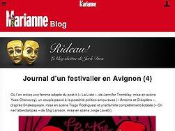 Journal d'un festivalier en Avignon (4)