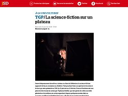 La science-fiction sur un plateau