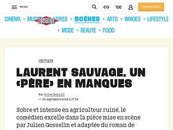 Laurent Sauvage, un «Père» en manques