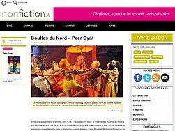 La comédie du mythomane, tirée vers l'esthétique du carnaval....
