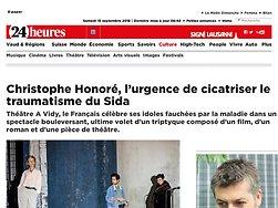 Christophe Honoré, l'urgence de cicatriser le traumatisme du Sida