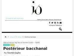 Postérieur bacchanal