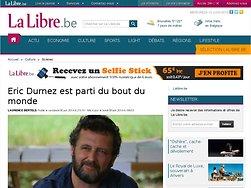 Eric Durnez est parti du bout du monde
