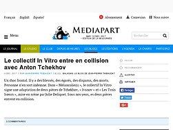 Le collectif In Vitro entre en collision avec Anton Tchekhov