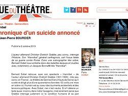 Chronique d'un suicide annoncé