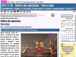 Les danses post-apocalyptiques de Pierre Rigal