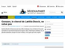 Corazon, le cheval de Lætitia Dosch, ne salue pas
