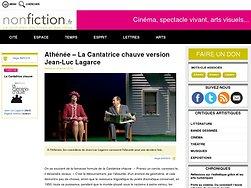 La Cantatrice chauve version Jean-Luc Lagarce