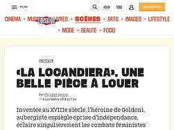 «La Locandiera», une belle pièce à louer