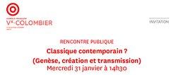 Illustration de Lagarce - Classique contemporain ? Rencontre