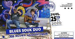 Illustration de Apéro Concert : Blues Souk Duo