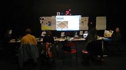 Illustration de Data, Mossoul en résidence au Théâtre de la Bastille