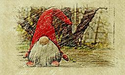 Illustration de Le Lutin perdu