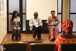 Illustration de Lecture publique : Martyrs de Salima Togora
