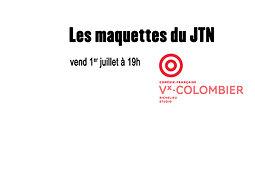 Illustration de Les maquettes du JTN au Théâtre du Vieux-Colombier