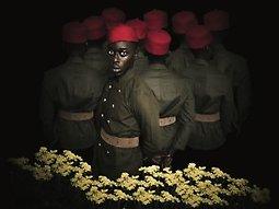 Illustration de Omar Victor Diop / Liberty - Chronologie Universelle de la Protestation Noire