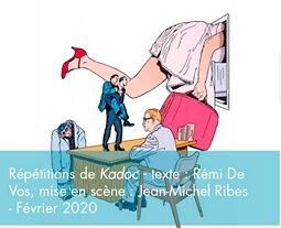 Illustration de Répétitions pour les certifiés de l'Académie Charles-Dullin