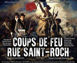Image Coup De Feu coups de feu rue saint-roch - jocelyn fiorina, - mise en scène