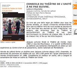 """Illustration de Jacques Livchine - """"Conseils du théâtre de l'Unité..."""" - Vente - signature"""