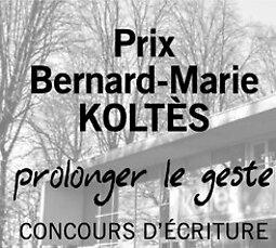 Illustration de Clôture du dépôt des manuscrits pour le Prix Bernard-Marie Koltès