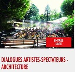 Illustration de Dialogues artistes-spectateurs - Architecture
