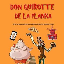 Illustration de Don Quirotte de la Planxa
