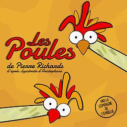 Illustration de Les Poules de Pierre Richards