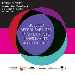 Illustration de Quelles responsabilités pour l'artiste dans la Cité aujourd'hui ?