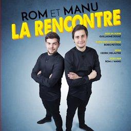 Illustration de Rom et Manu : La rencontre