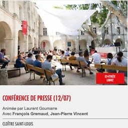 Illustration de Conférence de presse (12/07)