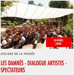 Illustration de Les Damnés - Dialogue artistes spectateurs