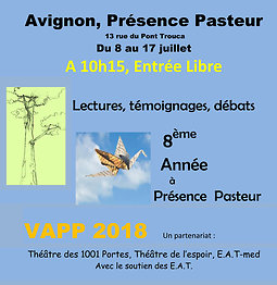 Illustration de Voyages d'auteurs à Présence Pasteur